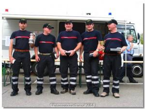 Feuerwehrwettkampf 2004